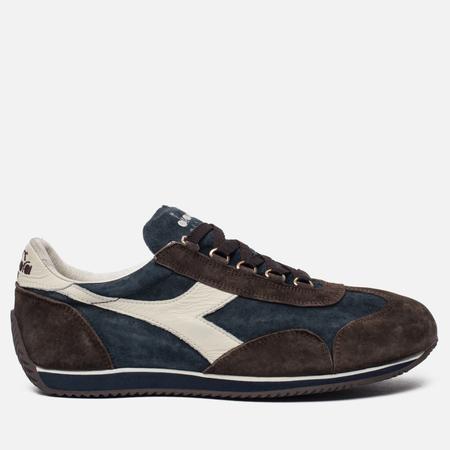 Мужские кроссовки Diadora Heritage Equipe S. Stone Wash Classic Navy/Coffee Bean