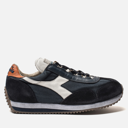Мужские кроссовки Diadora Heritage Equipe Stone Wash Dirty Evo Blue Denim