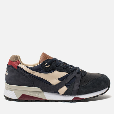 Мужские кроссовки Diadora Heritage N.9000 ITA Blue Nights/Bone Brown