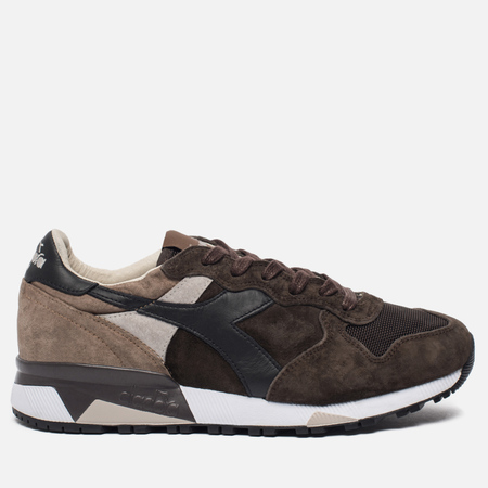 Мужские кроссовки Diadora Heritage Trident 90 S. Stone Wash Turkish Coffee/Fossil