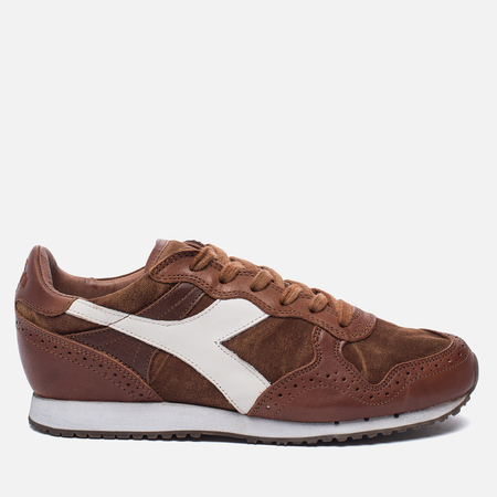 Мужские кроссовки Diadora Heritage Trident C Dyed Brogue Brown Sequoia