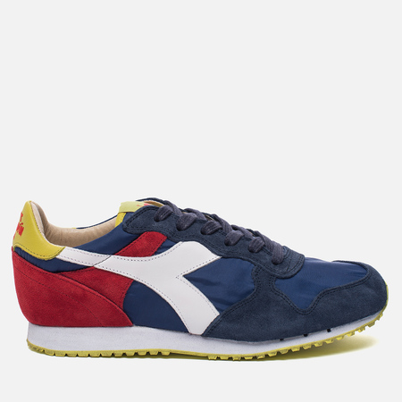 Мужские кроссовки Diadora Heritage Trident NY S.W Estate Blue/Fiery Red/Sulphur