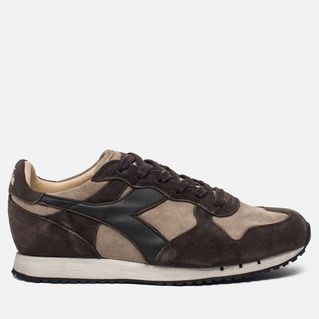 Мужские кроссовки Diadora Heritage Trident S. Stone Wash Cobblestone/Turkish Coffee