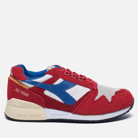 Мужские кроссовки Diadora I.C. 4000 Premium Beer Pack Pompeian Red/Nautical Blue/Vanil