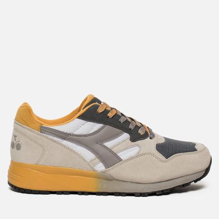 Мужские кроссовки Diadora N.902 Speckled White/Grey/Yellow