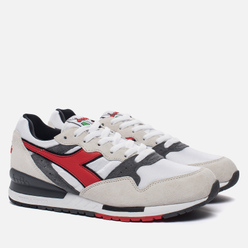 Мужские кроссовки Diadora x Roberto Baggio Intrepid OG White/Grey/Red
