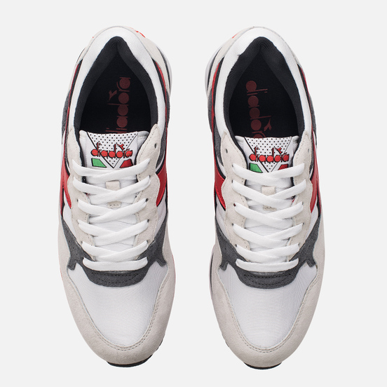 Мужские кроссовки Diadora x Roberto Baggio Intrepid OG White/Grey/Red