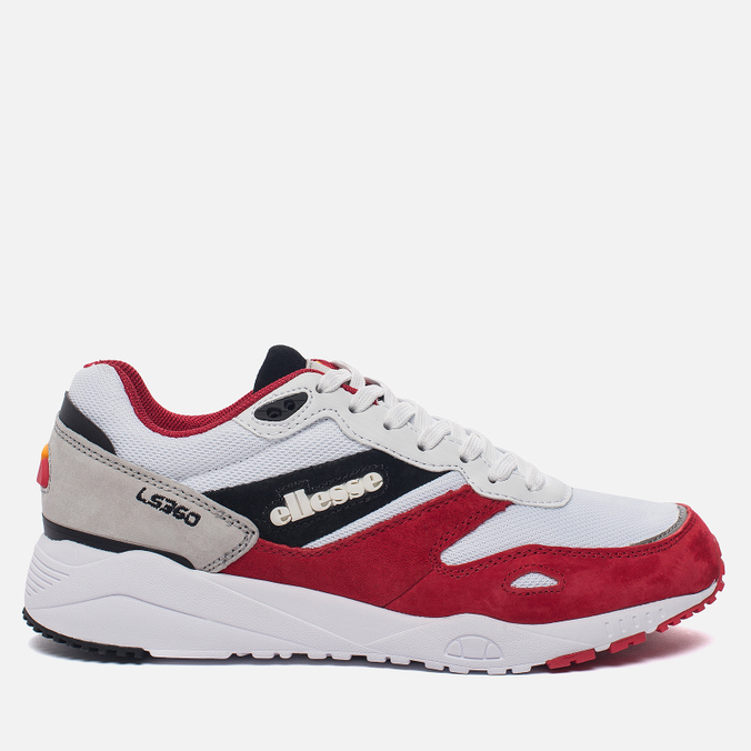 Мужские кроссовки Ellesse LS360 Trainer White/Red/Grey