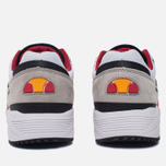 Мужские кроссовки Ellesse LS360 Trainer White/Red/Grey фото- 3