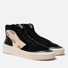 Мужские кроссовки Fear of God Strapless Skate Mid Suede/Canvas Black/Cream Fear Of God Print фото- 0
