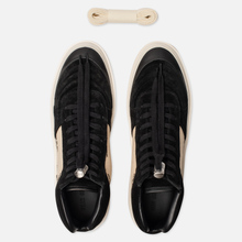 Мужские кроссовки Fear of God Strapless Skate Mid Suede/Canvas Black/Cream Fear Of God Print фото- 1