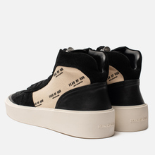 Мужские кроссовки Fear of God Strapless Skate Mid Suede/Canvas Black/Cream Fear Of God Print фото- 2