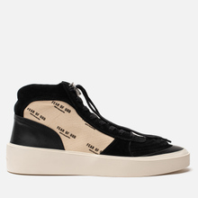 Мужские кроссовки Fear of God Strapless Skate Mid Suede/Canvas Black/Cream Fear Of God Print фото- 3