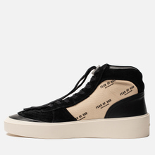Мужские кроссовки Fear of God Strapless Skate Mid Suede/Canvas Black/Cream Fear Of God Print фото- 5