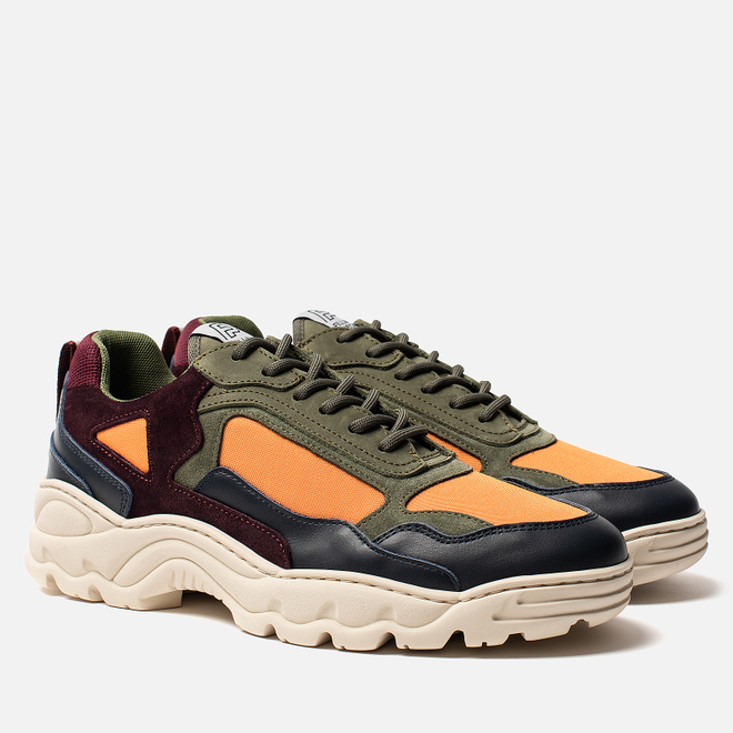 Мужские кроссовки Filling Pieces Low Curve Iceman Trimix Army Green