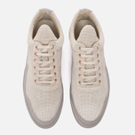 Мужские кроссовки Filling Pieces Low Top Ghost Perforated Grey фото- 4