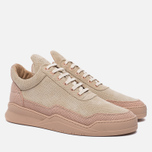 Мужские кроссовки Filling Pieces Low Top Ghost Perforated Pink фото- 1