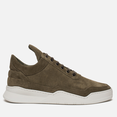 Мужские кроссовки Filling Pieces Low Top Ghost Suede Green