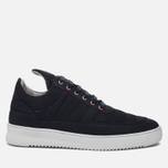 Мужские кроссовки Filling Pieces Low Top Padded Black фото- 0