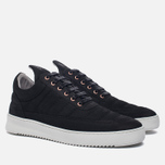 Мужские кроссовки Filling Pieces Low Top Padded Black фото- 1