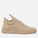 Мужские кроссовки Filling Pieces Low Top Perforated Tone Beige фото- 0
