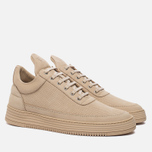 Мужские кроссовки Filling Pieces Low Top Perforated Tone Beige фото- 1