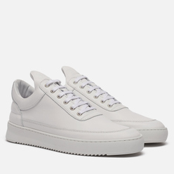 Мужские кроссовки Filling Pieces Low Top Ripple Lane Nappa All White