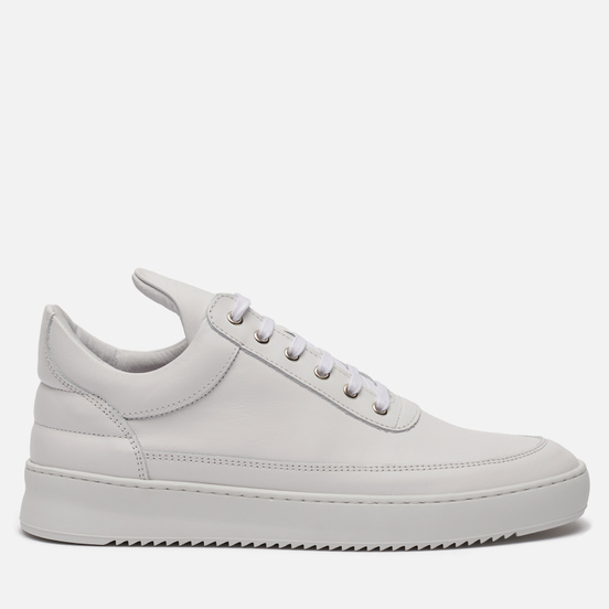 Кроссовки Filling Pieces Low Top Ripple Lane Nappa All White
