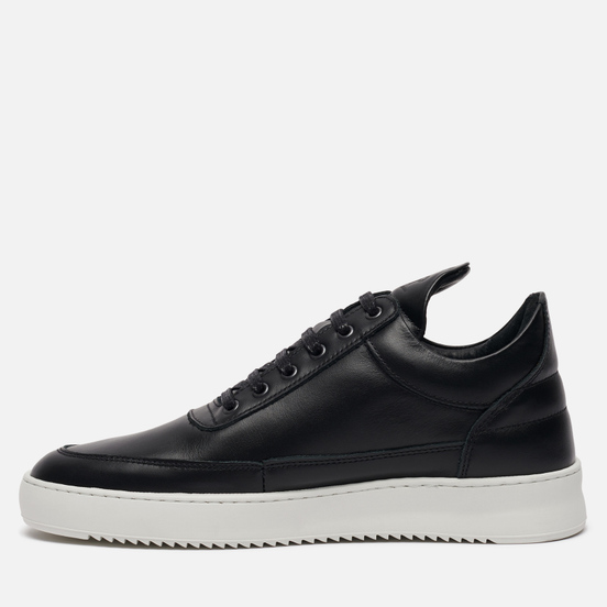Кроссовки Filling Pieces Low Top Ripple Lane Nappa Black