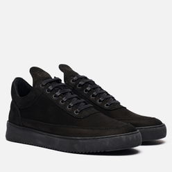 Кроссовки Filling Pieces Low Top Ripple Tonal Black