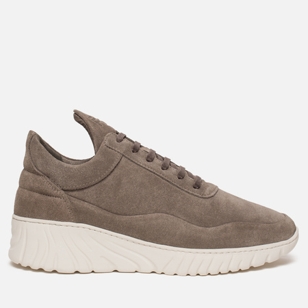 Мужские кроссовки Filling Pieces Low Top Roots Runner Roman Suede Dark Brown