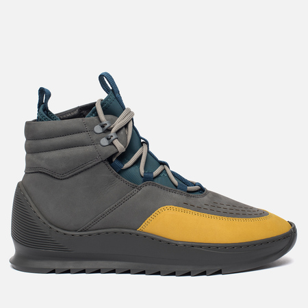 Мужские кроссовки Filling Pieces Mid Altitude Heel Cap Tech Yellow/Black