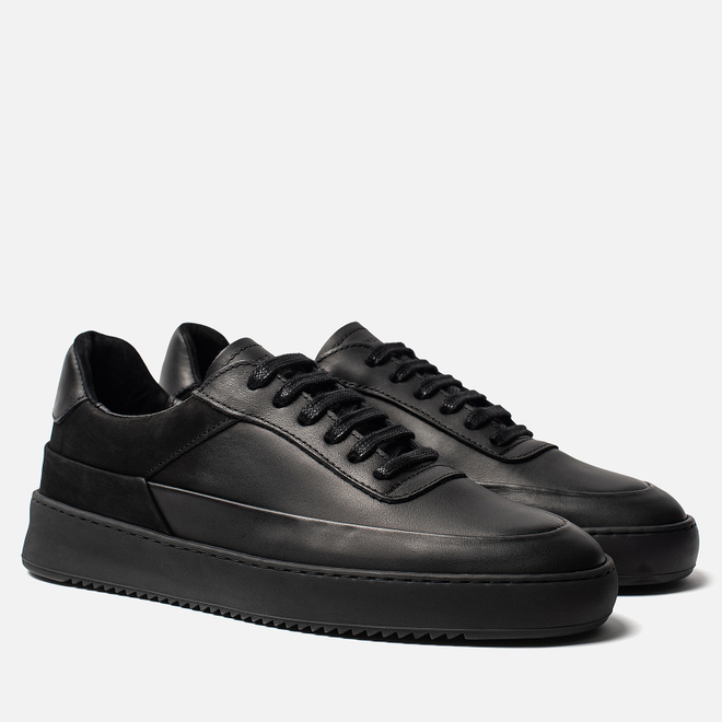 Мужские кроссовки Filling Pieces Mono Ripple Shift All Black