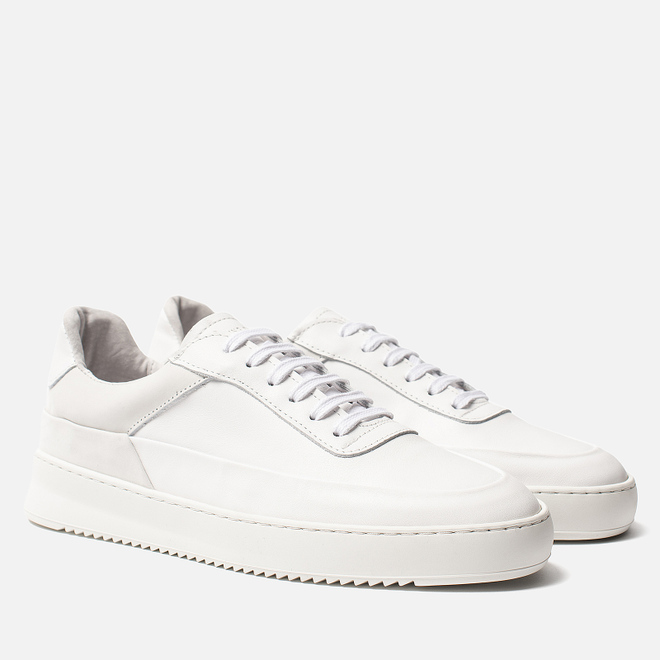 Мужские кроссовки Filling Pieces Mono Ripple Shift All White