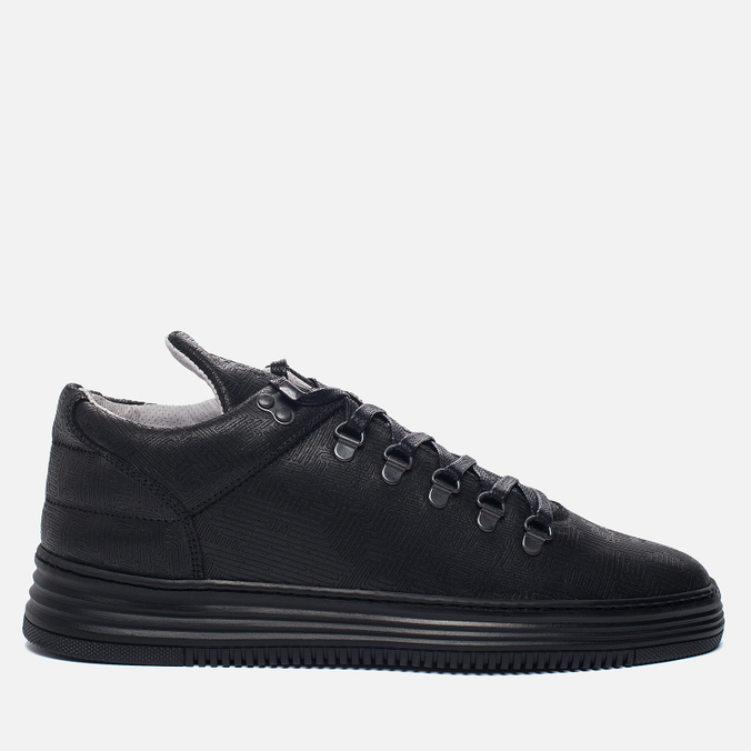 Мужские кроссовки Filling Pieces Mountain Cut Monotone Stripe Black