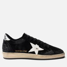 Мужские кроссовки Golden Goose Ball Star Black Silver/White Star фото- 3