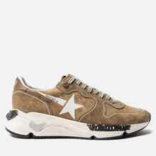 Мужские кроссовки Golden Goose Running Sole Tabac Suede/White Star фото- 3