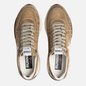 Мужские кроссовки Golden Goose Running Sole Tabac Suede/White Star фото - 1