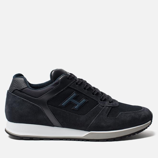 Мужские кроссовки Hogan H321 Suede Blue