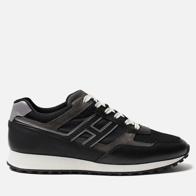 Мужские кроссовки Hogan H383 Black/Grey