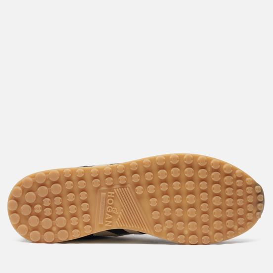 Мужские кроссовки Hogan H383 Leather Black/Natural