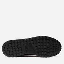 Мужские кроссовки Hogan H383 Leather Brown/Black фото- 4