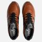 Мужские кроссовки Hogan H383 Leather Brown/Black фото - 1