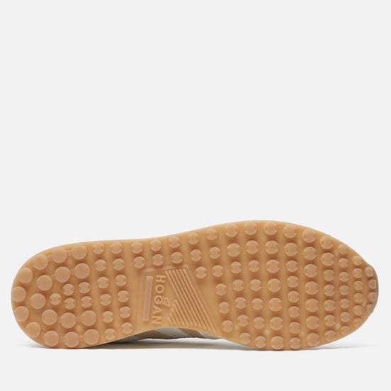Мужские кроссовки Hogan H383 Leather Dark Natural