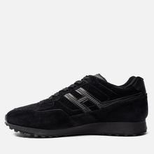 Мужские кроссовки Hogan H383 Suede Black фото- 5