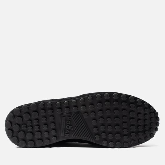 Мужские кроссовки Hogan H383 Suede Black