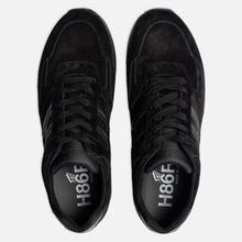 Мужские кроссовки Hogan H383 Suede Black фото- 1