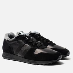 Мужские кроссовки Hogan H383 Track & Field Suede Black/Grey