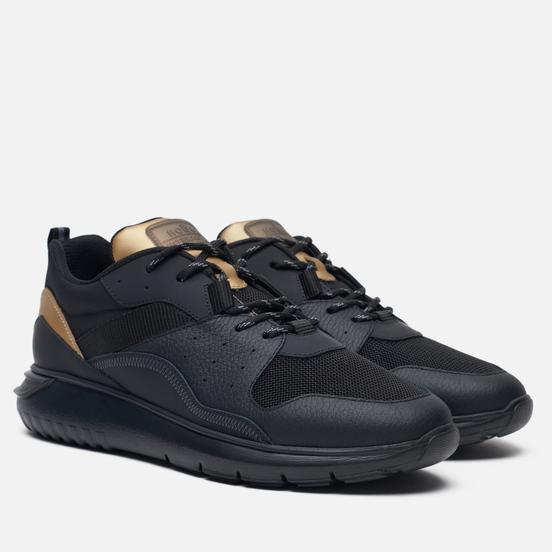 Мужские кроссовки Hogan H519 Interactive 3 Black/Gold