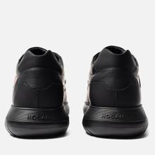 Мужские кроссовки Hogan Interactive 3 Leather Black/Red фото- 2